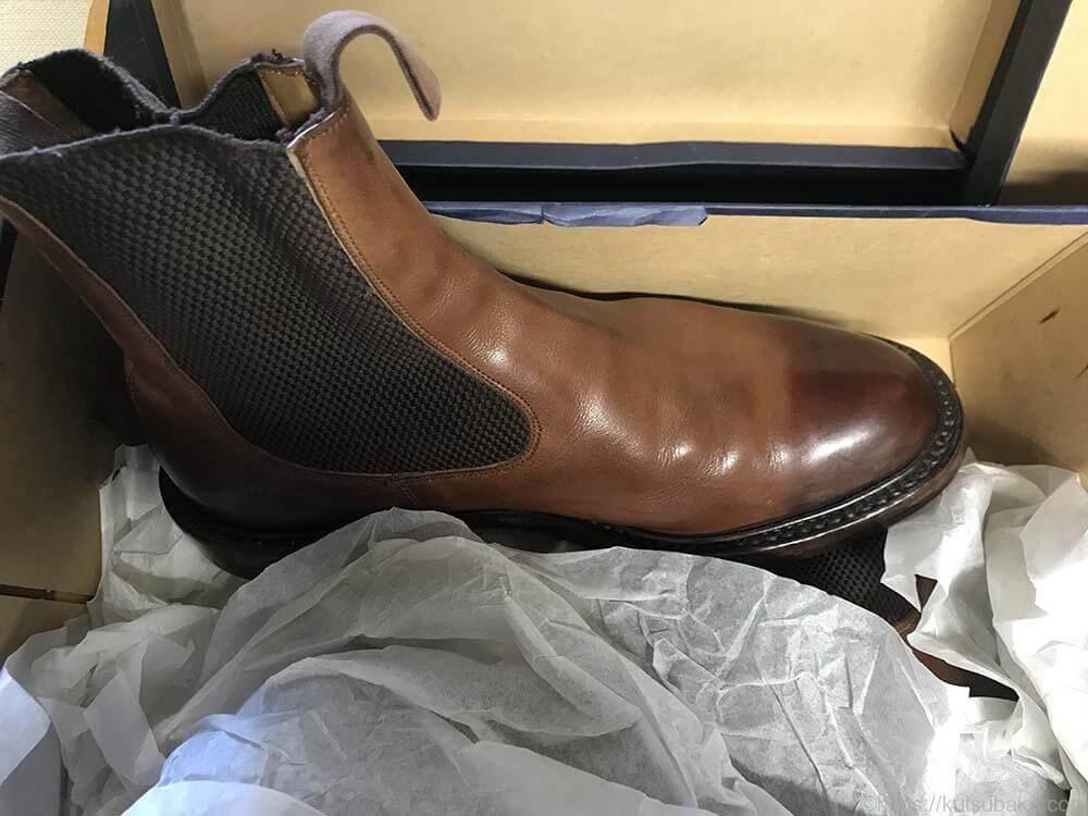 靴バカ.com Trickersサイドゴアブーツ