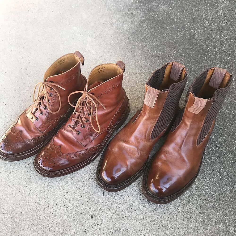 靴バカ.com Trickersサイドゴアブーツ カントリーブーツ
