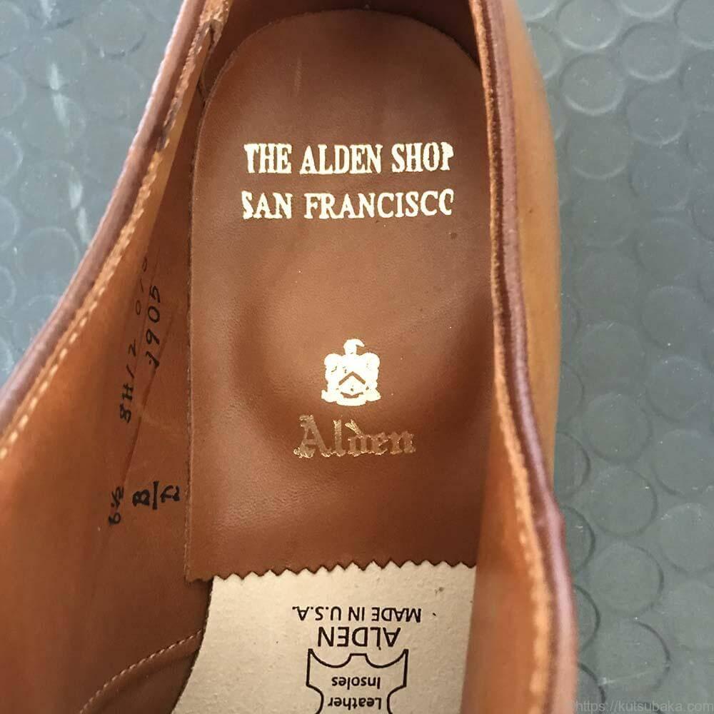 靴バカ.com alden9905