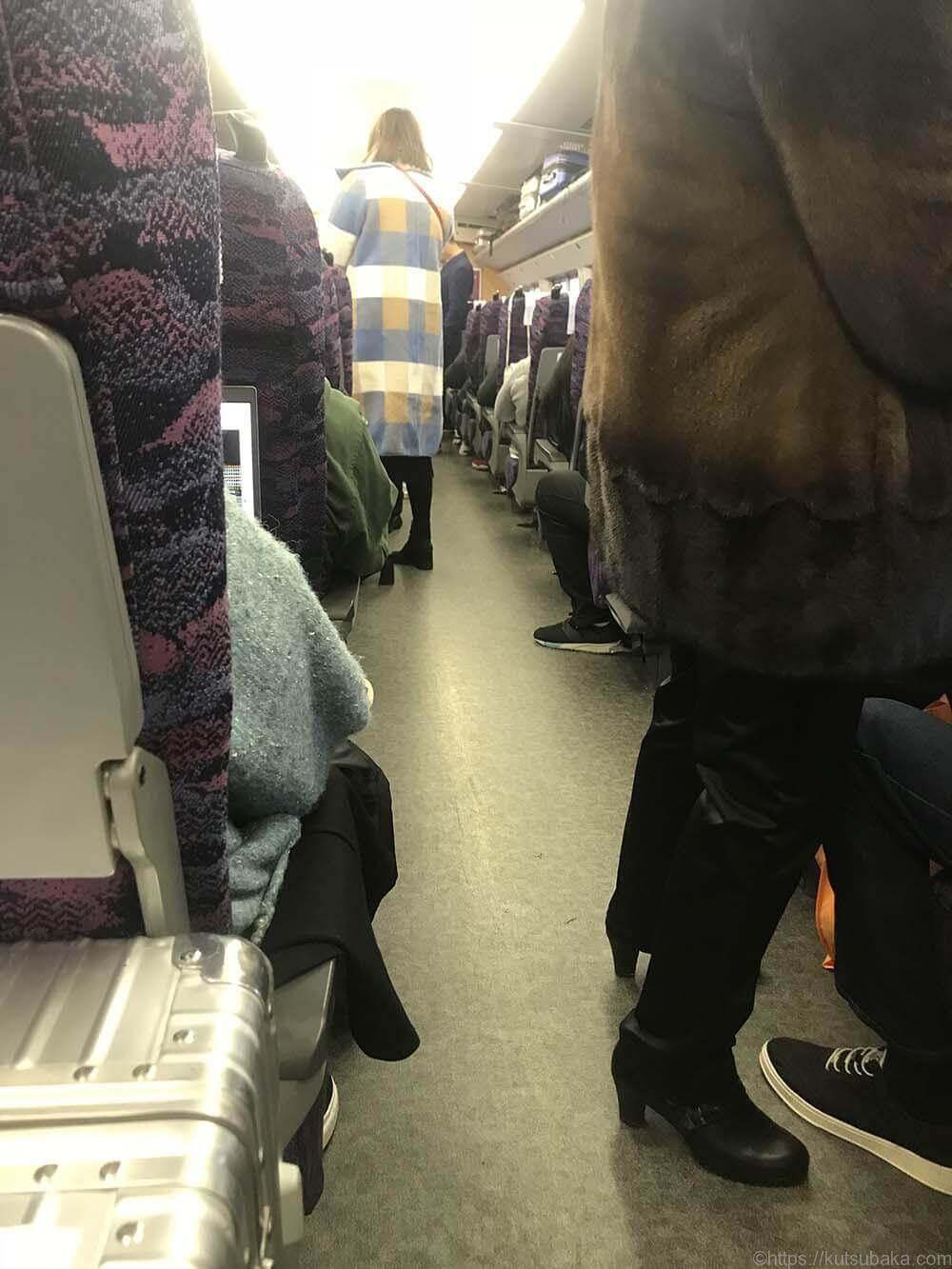 中国 新幹線内