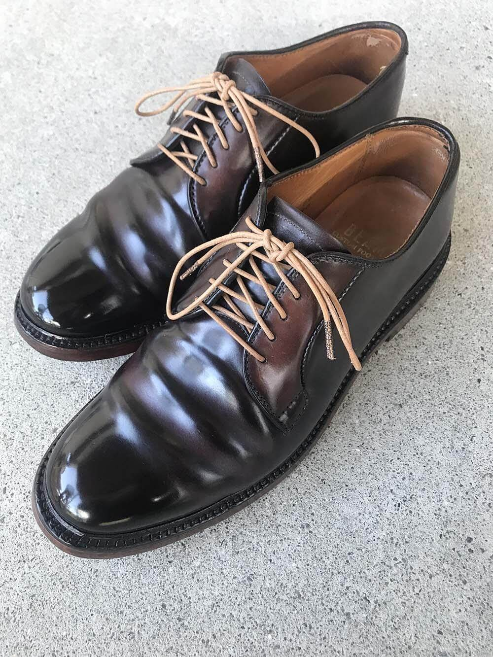 靴バカ.com bootblack collections alden990