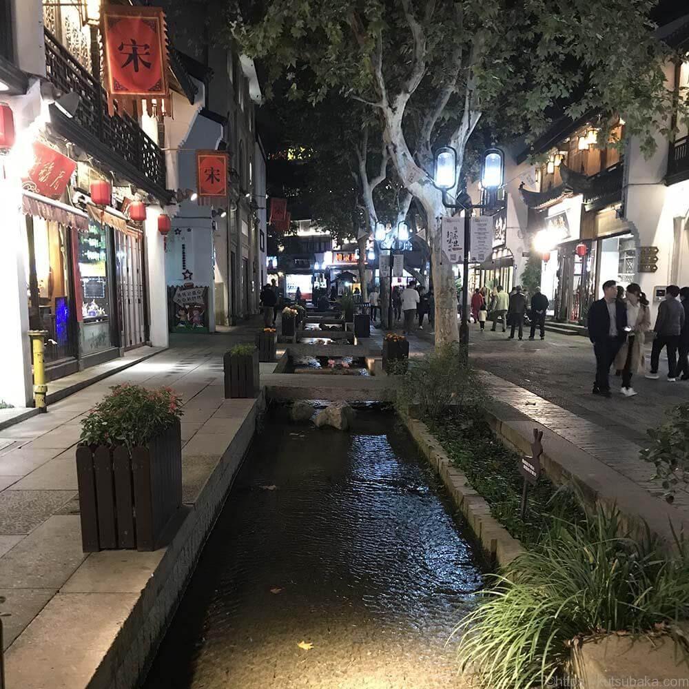 中国杭州街並