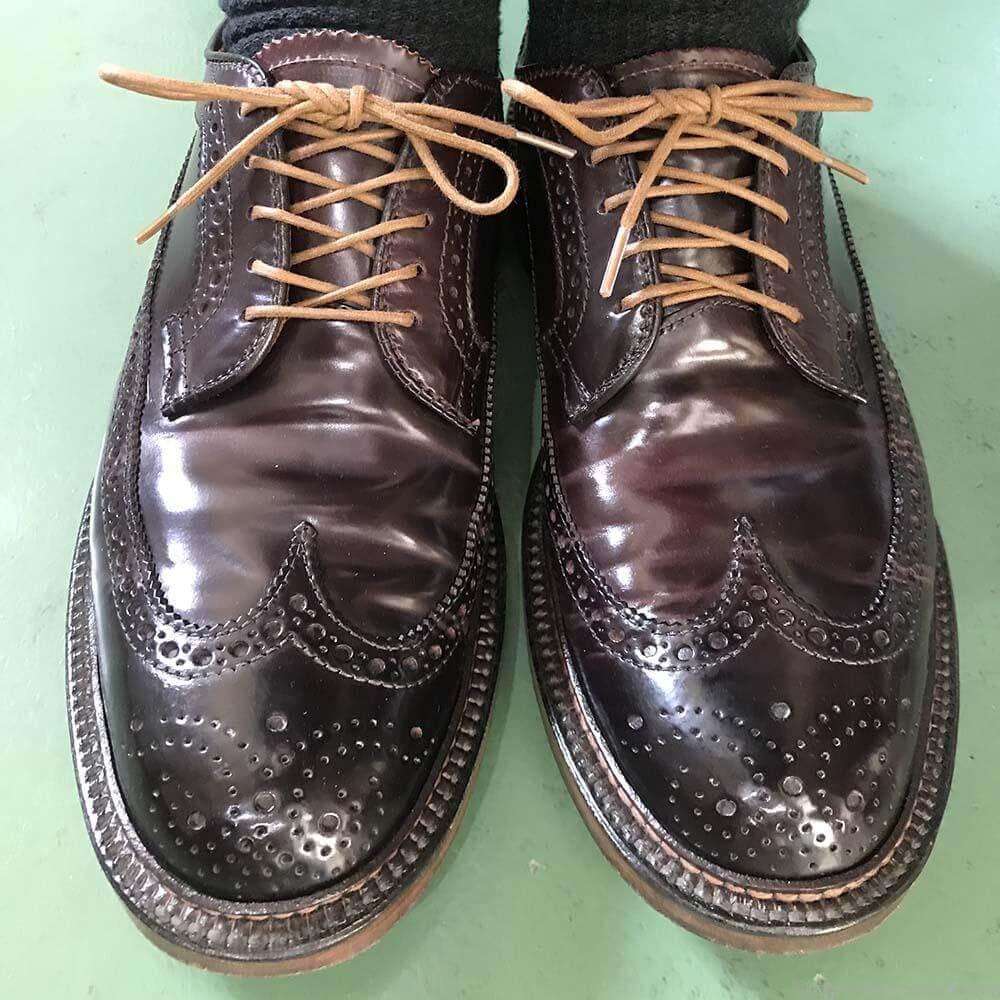 靴紐の結び方 オーバーラップとアンダーラップ 靴バカ.com
