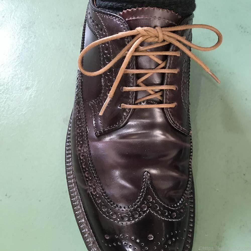 靴紐の結び方 パラレル 靴バカ.com