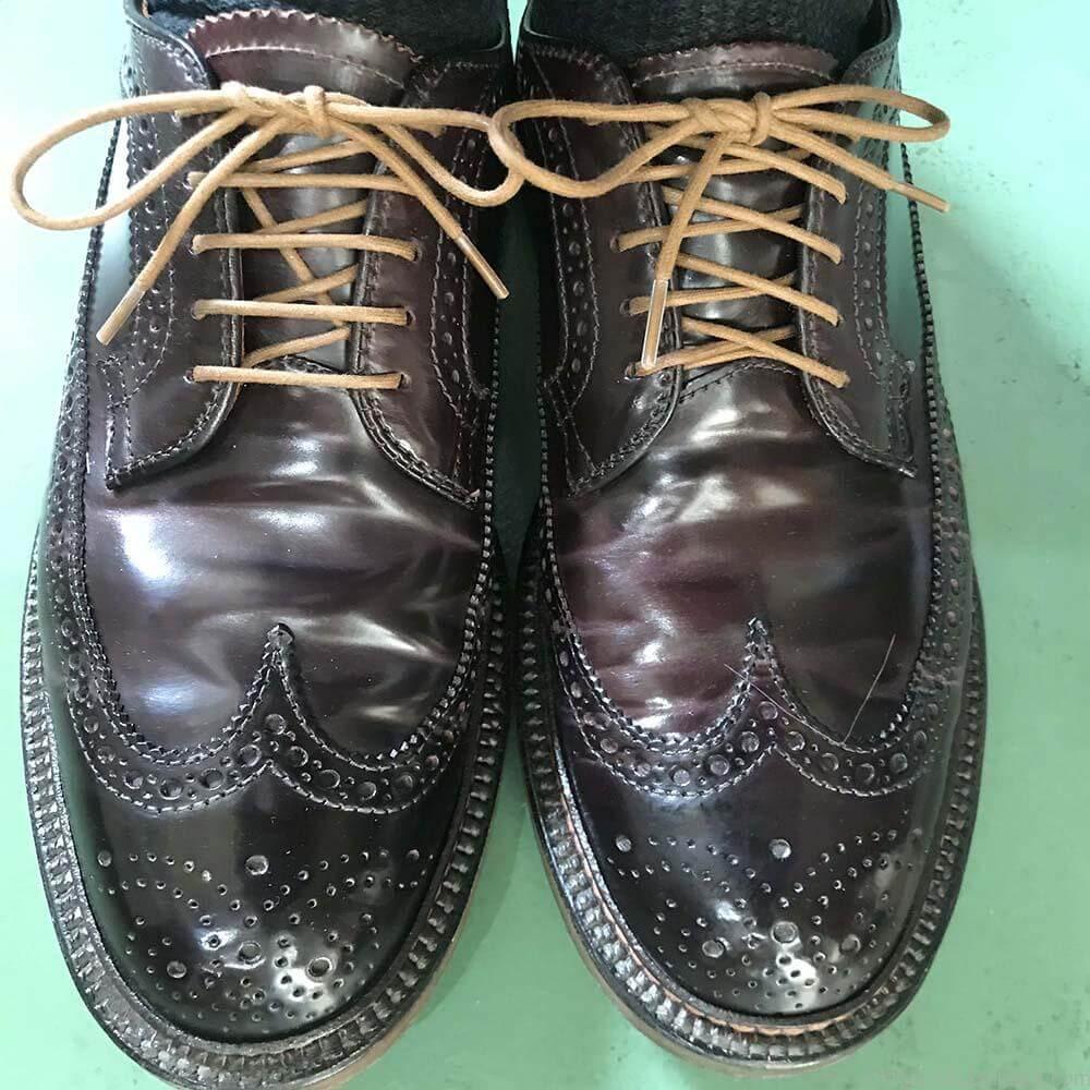 靴紐の結び方 シングルとアンダーラップ 靴バカ.com
