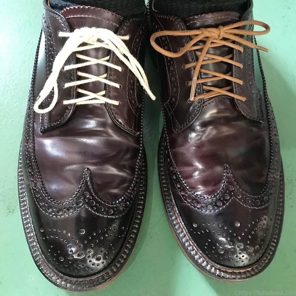 靴紐の結び方 アンダーラップ 靴バカ.com